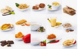 verschillende gerechten